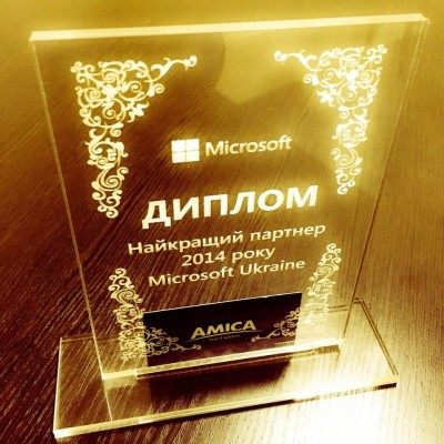 Partner of the year Microsoft - Amica