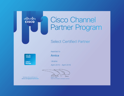 Cisco-Amica Partner