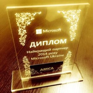 Partner of the year Microsoft-Amica
